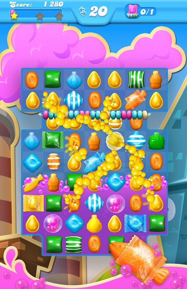 Candy Crush Soda Saga casual match 3 game