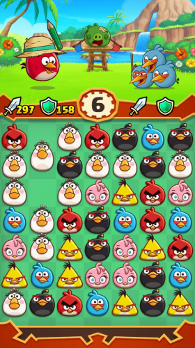 Angry Birds Fight PvP