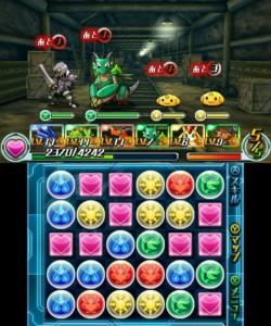 Puzzle & Dragons gameplay