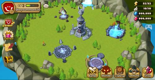 Sumoners War Sky Arena Base