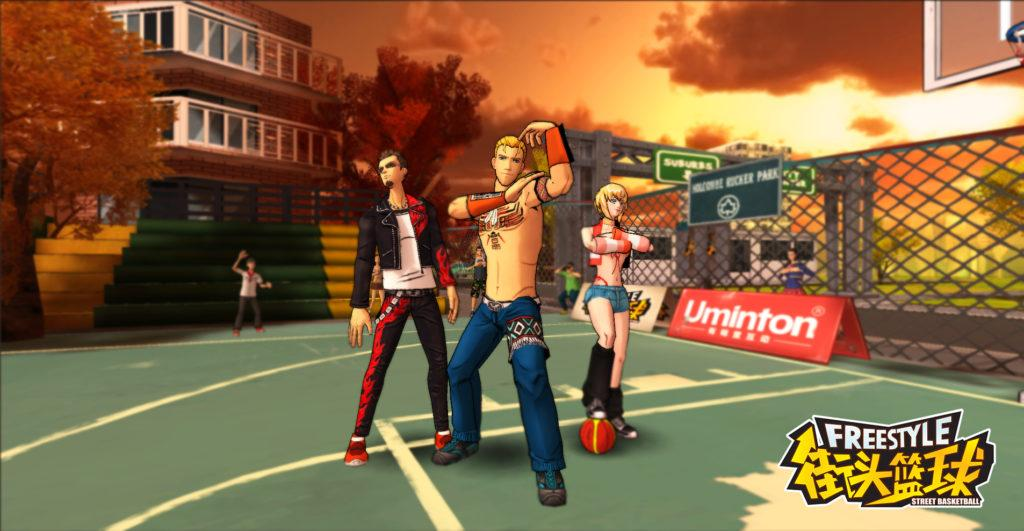 Freestyle is a popular cartoon-style basketball game originally published on PC.