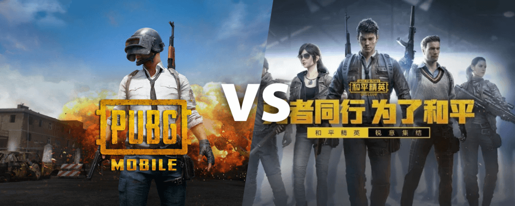 PUBG vs Game for Peace