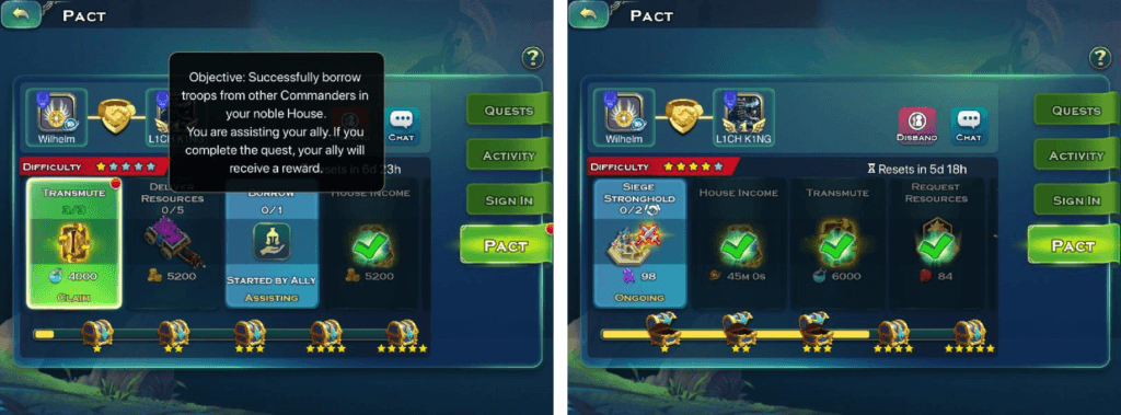 Art of Conquest mobile game uses communal mechanics
