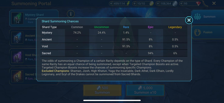 RAID: Shadow Legends Shards