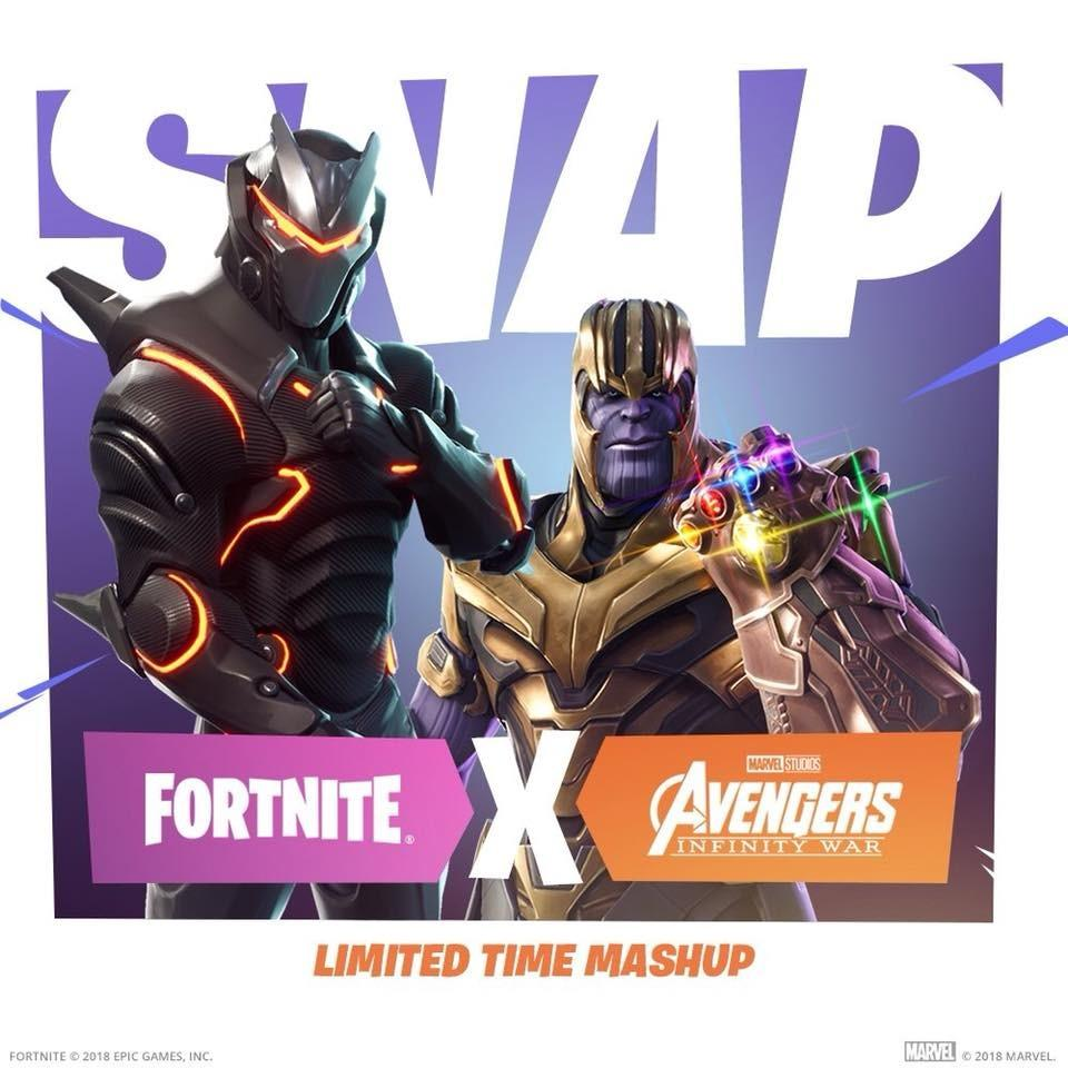 collaboration event example fortnite marvel
