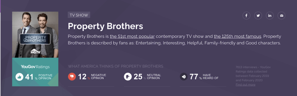 Property Brothers insights