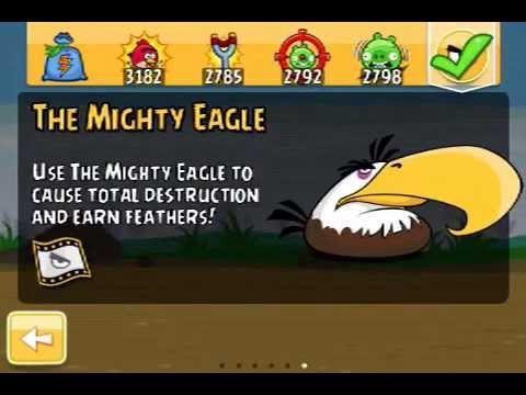 Rewards in original Angry Birds