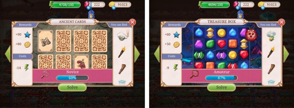 Seekers Notes uses various special modes with different puzzle mechanics to further enrich its already great hidden object levels.