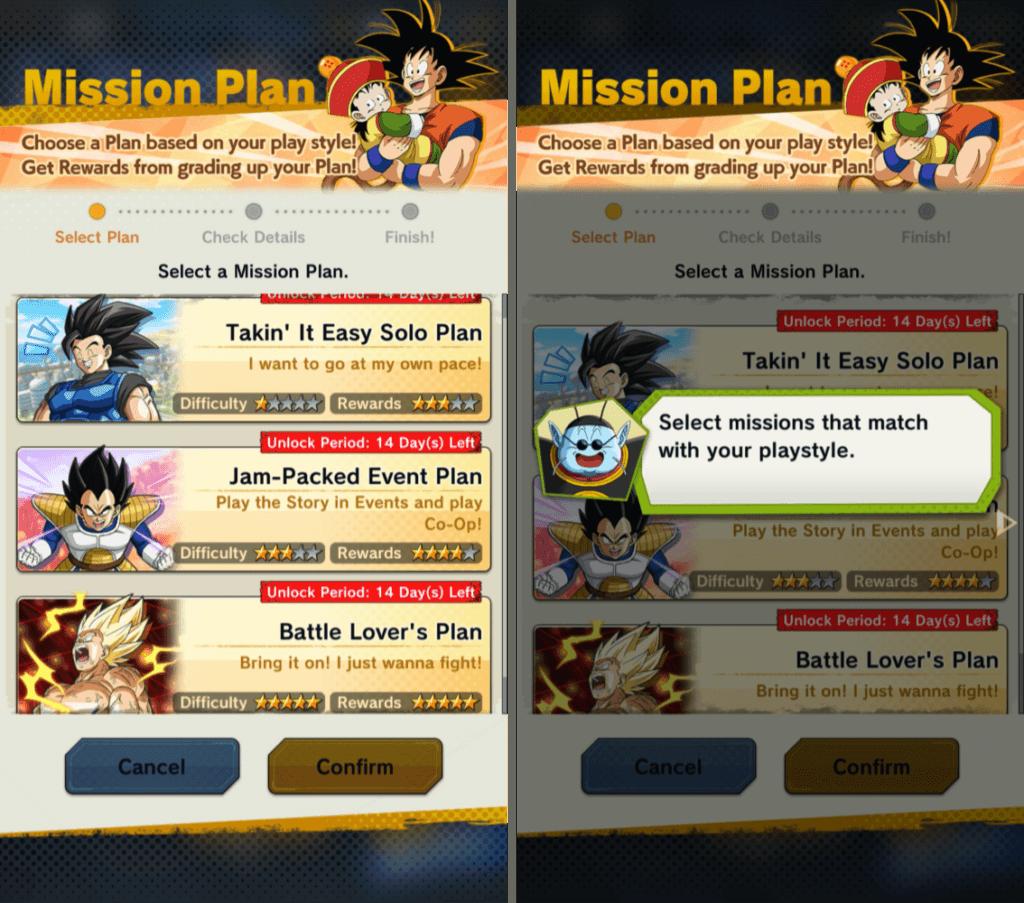 Dragon Ball Legends Battle Pass Mission Plans