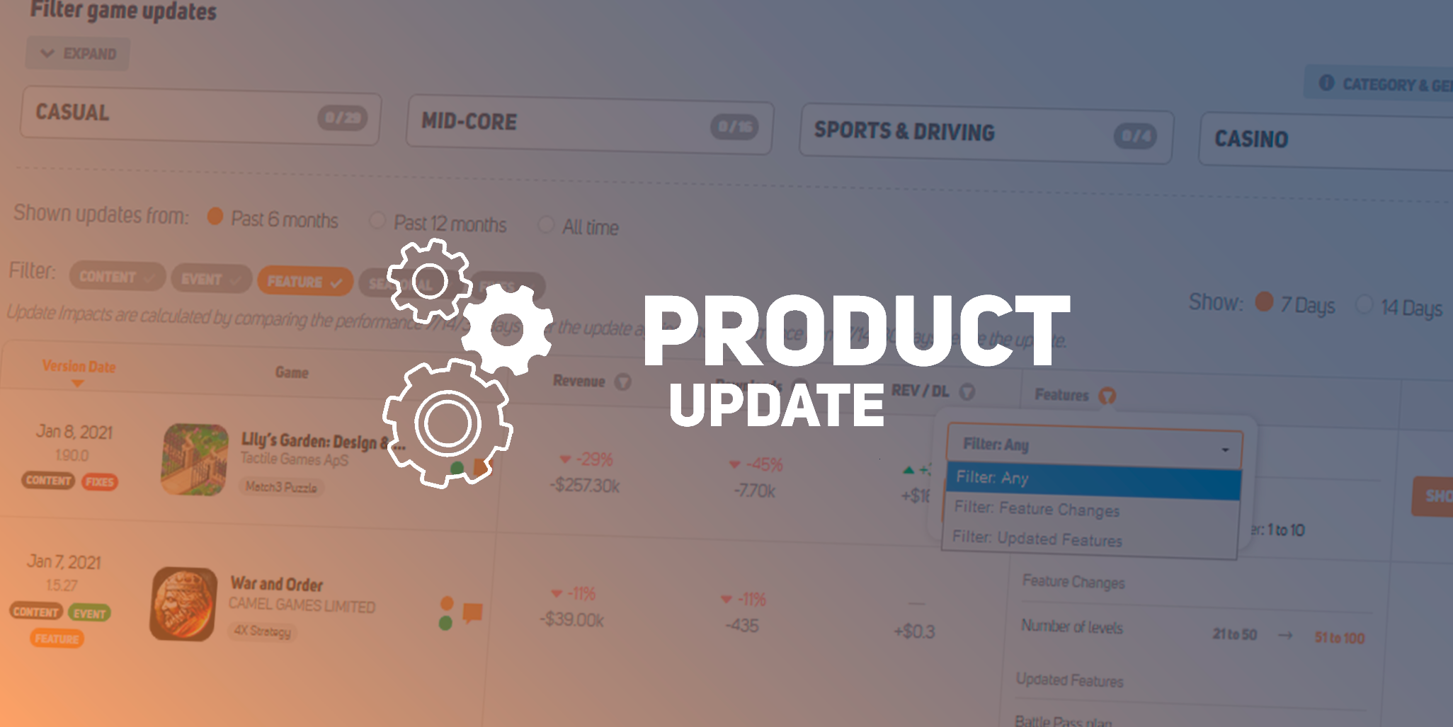 January 2021 Product Update