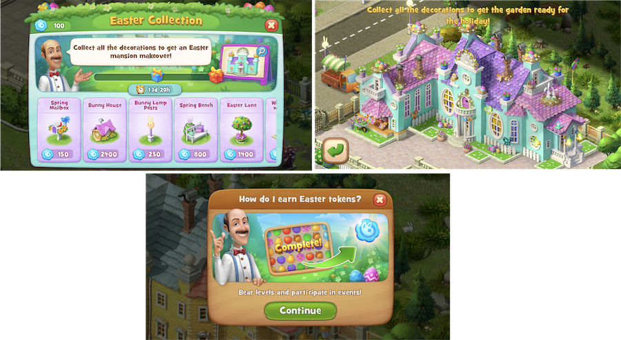 Gardenscapes seasonal content