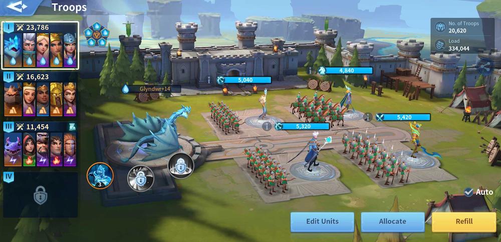 Infinity Kingdom Immortal Battle System