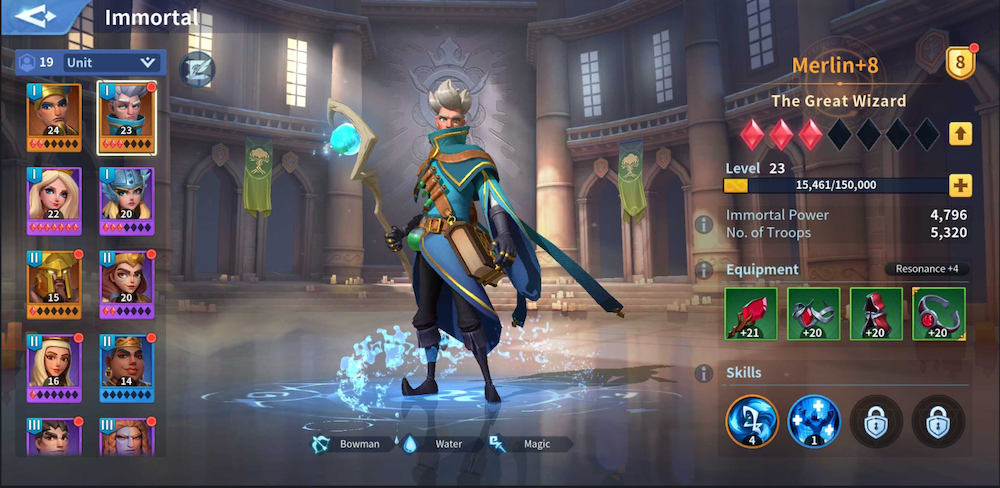 Infinity Kingdom Merlin