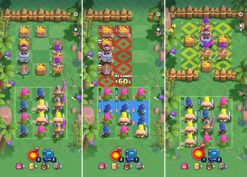 Clash Quest's battles