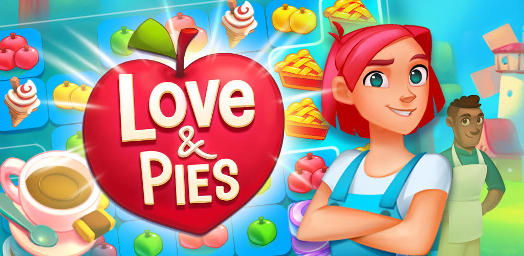 Love and Pies match3 header