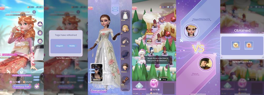 Time Princess: Dress Up's PvP system