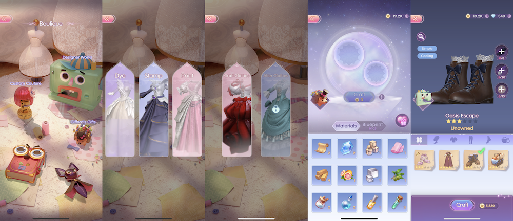 Time Princess: Dress Up's different ways to collect outfits