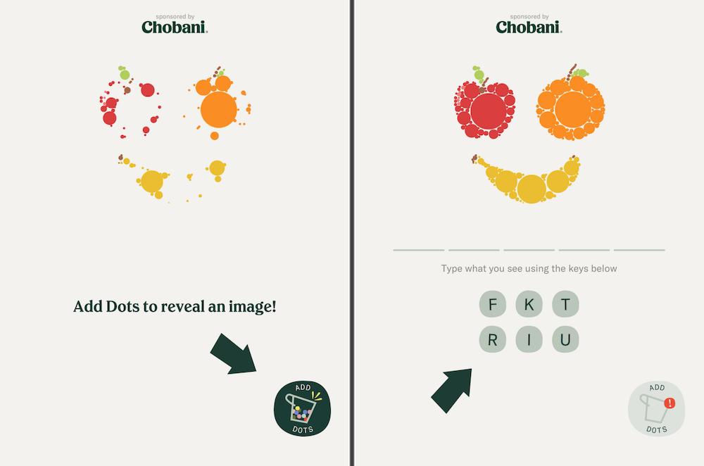 Two Dots' collaboration event with Chobani Yogurt brand