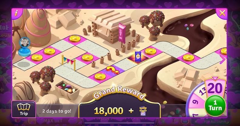 House of Fun: Casino Slots 777's Board Trip event