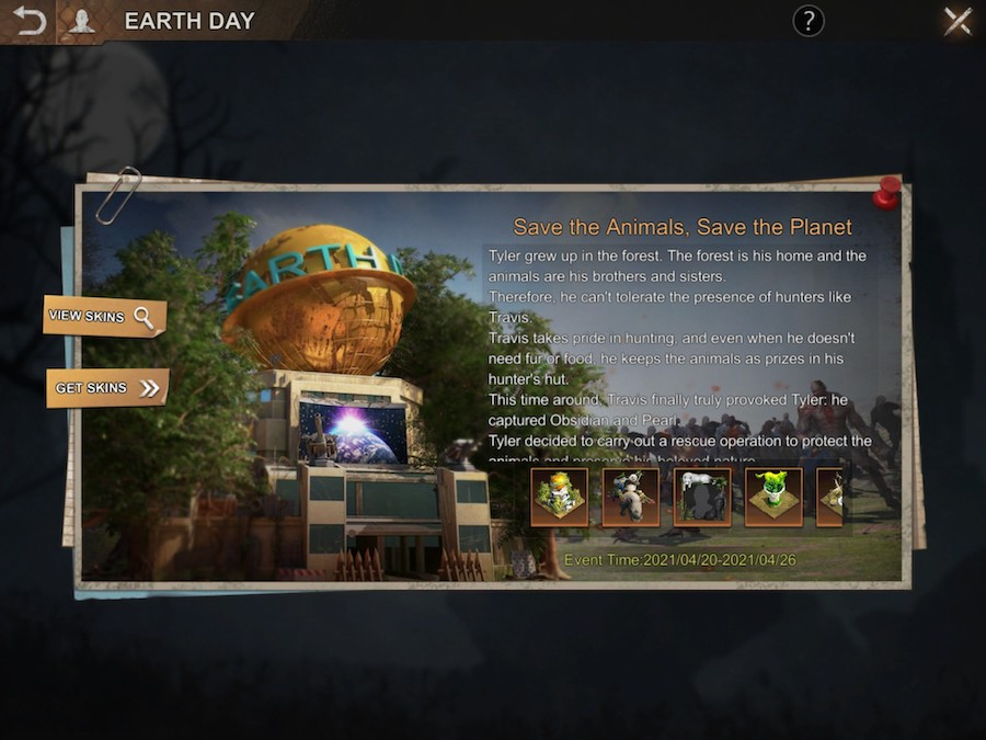 State of Survival's Earth Day event