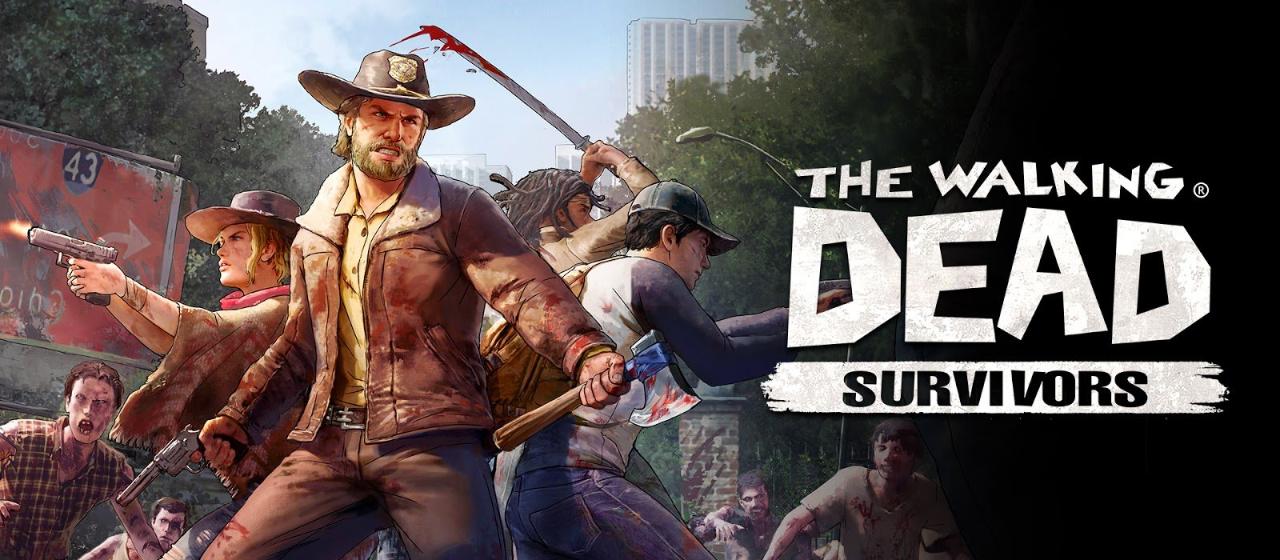 The Walking Dead: Survivors header