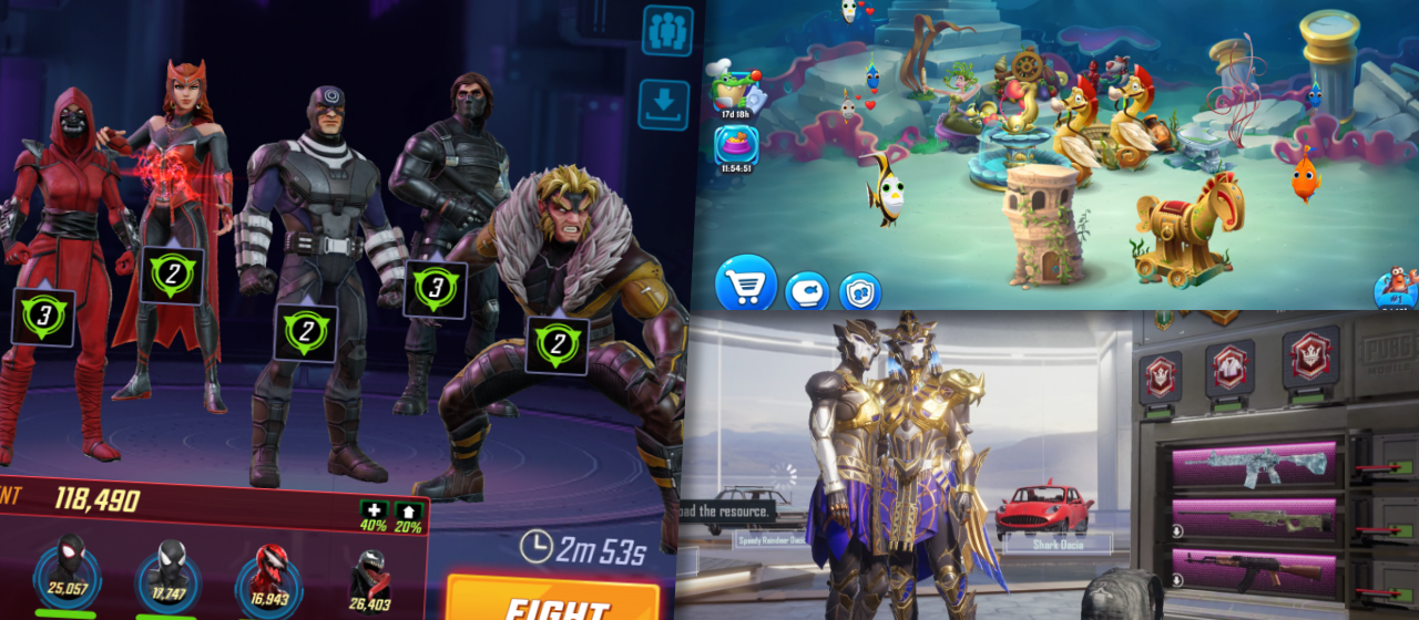 Collection systems mobile games header