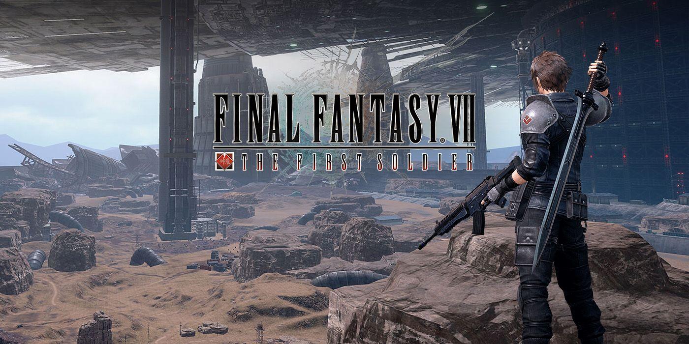 Final Fantasy VII The First Soldier header