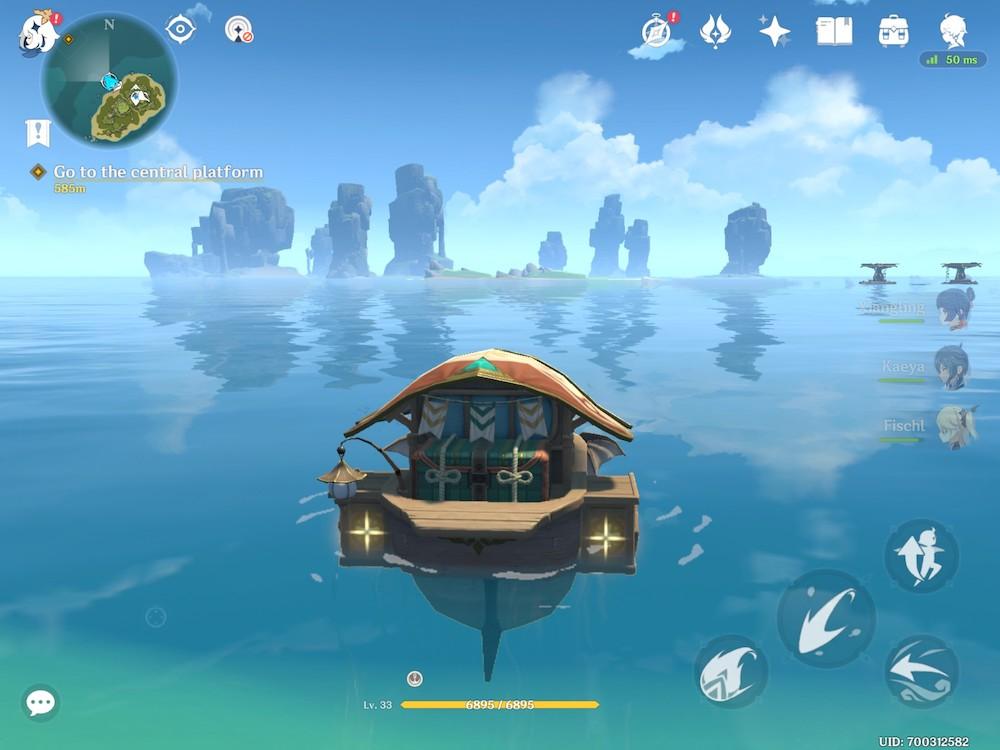 Genshin Impact's Midsummer Island Adventure event
