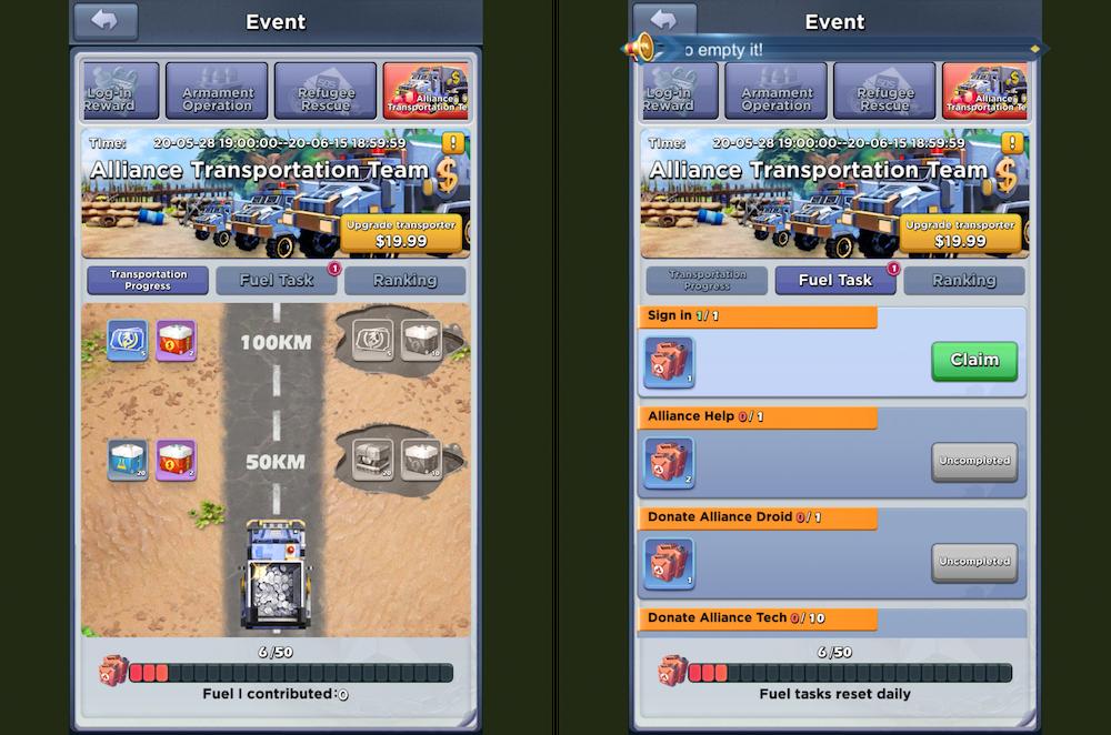 Battle Pass 'Alliance Transportation Team'