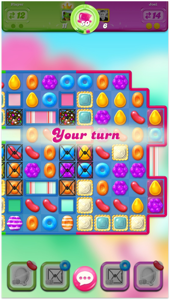 Candy Crush Jelly Saga's synch PvP is example of a social feature