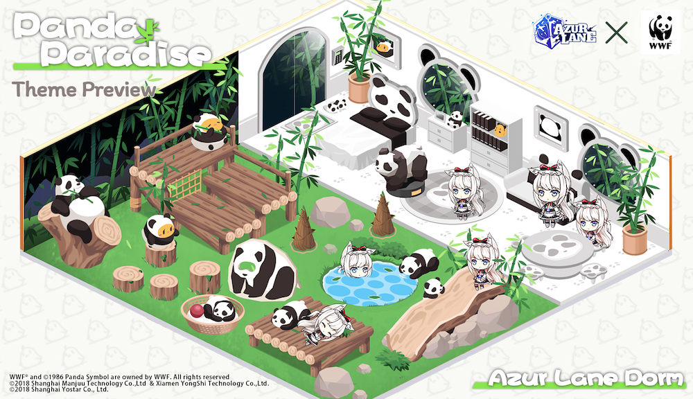 mobile game Azur lane's charity event