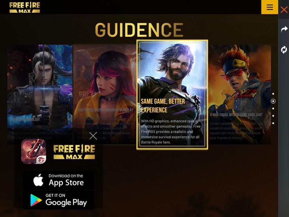 Garena Free Fire Max announcement