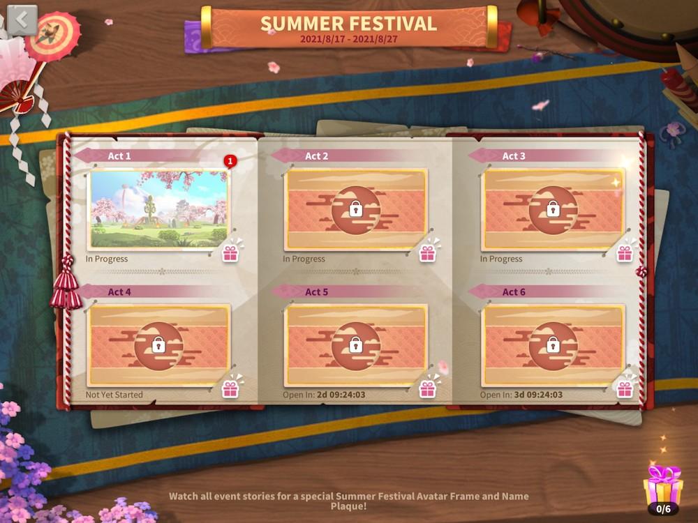 Rise of Kingdoms' Summer festival