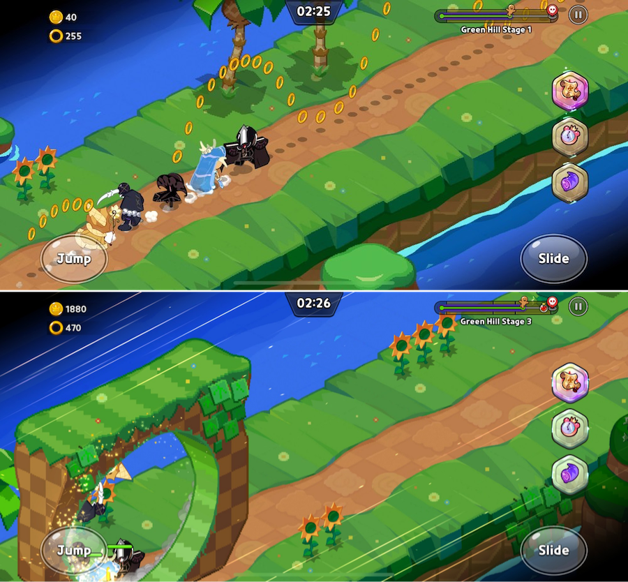 Cookie Run: Kingdom and Sonic the Hedgehog