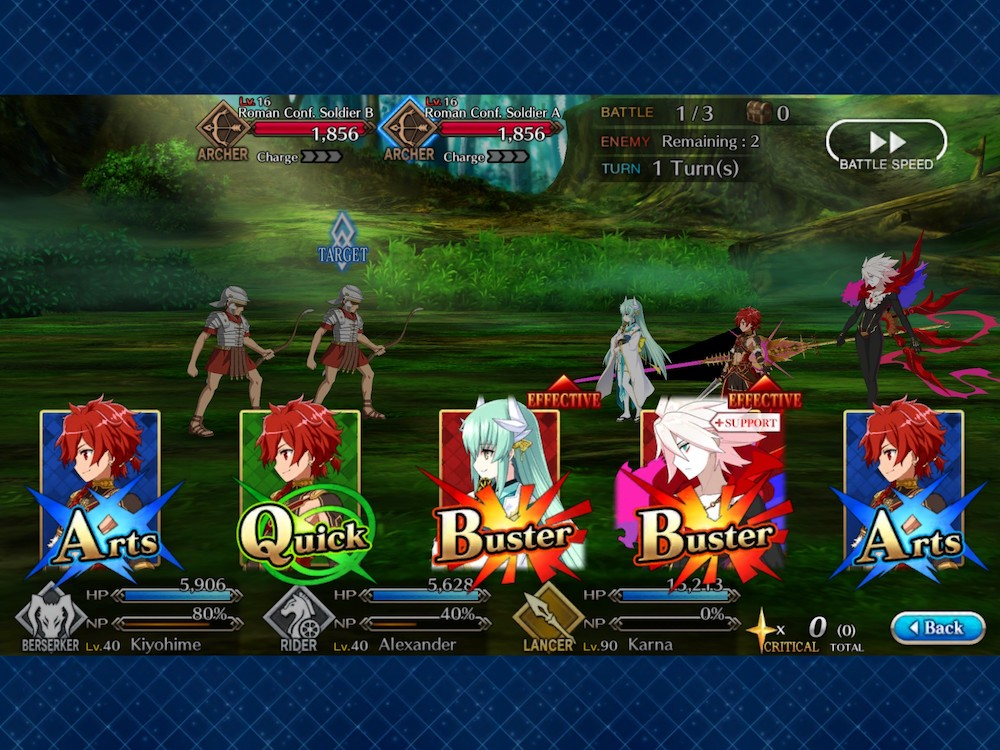 Fate/Grand Order is a Turn-Based RPG based on an Anime and Game IP