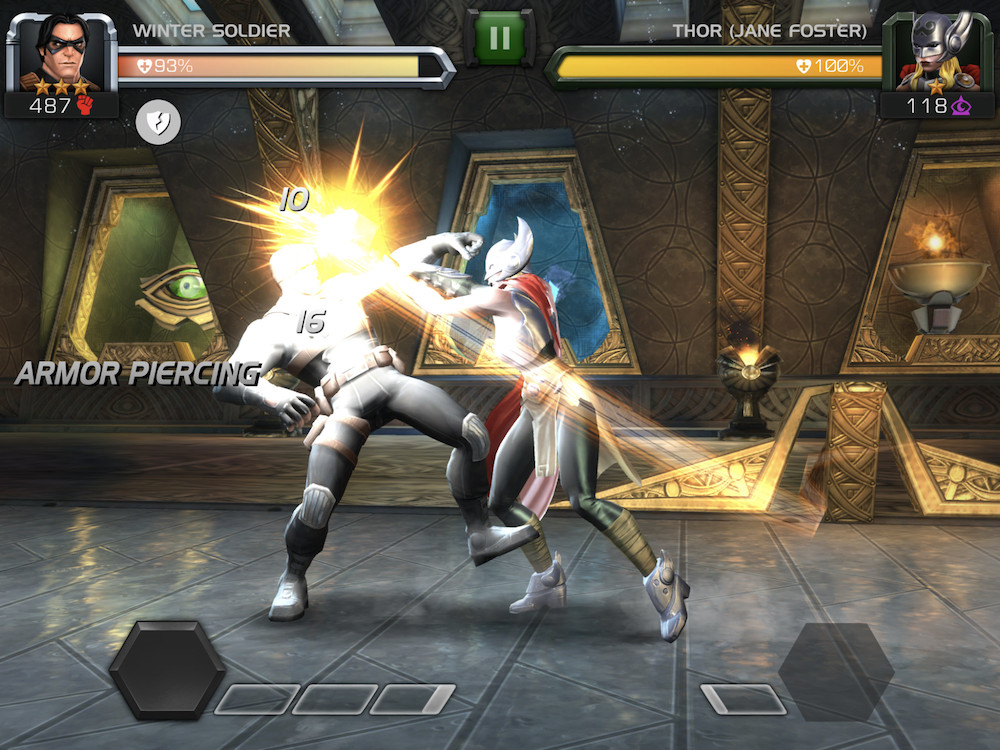 Marvel Contest of Champions is a top 100 grossing game in the US market